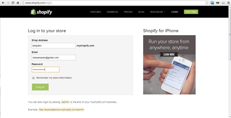 how to make a shopify website