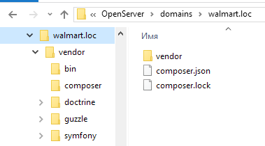 directory with libraries